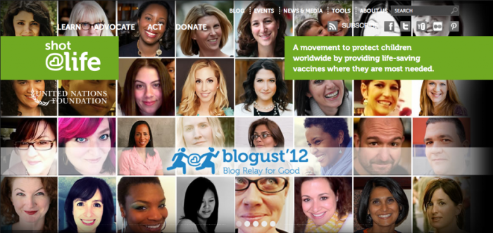 Taking part in the first Blogust as a Blog Partner.