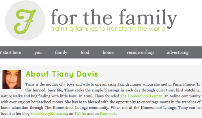 Contributor at For the Family