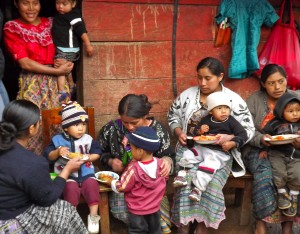 The mothers and children I met on my trip to Guatemala with Save the Children.