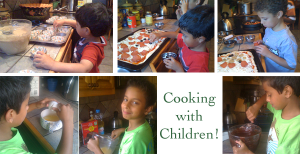 Cooking with Kids! Lessons to learn in the kitchen!