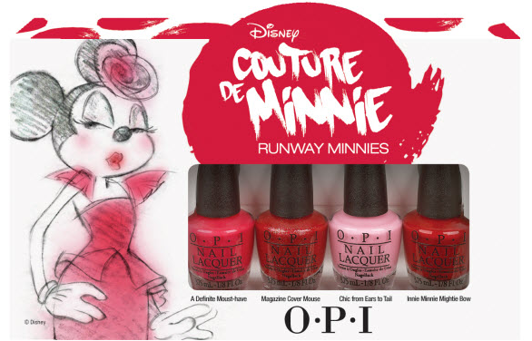 Couture de Minnie OPI Collection