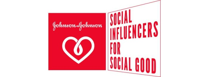 Johnson & Johnson Social Good Ambassadors