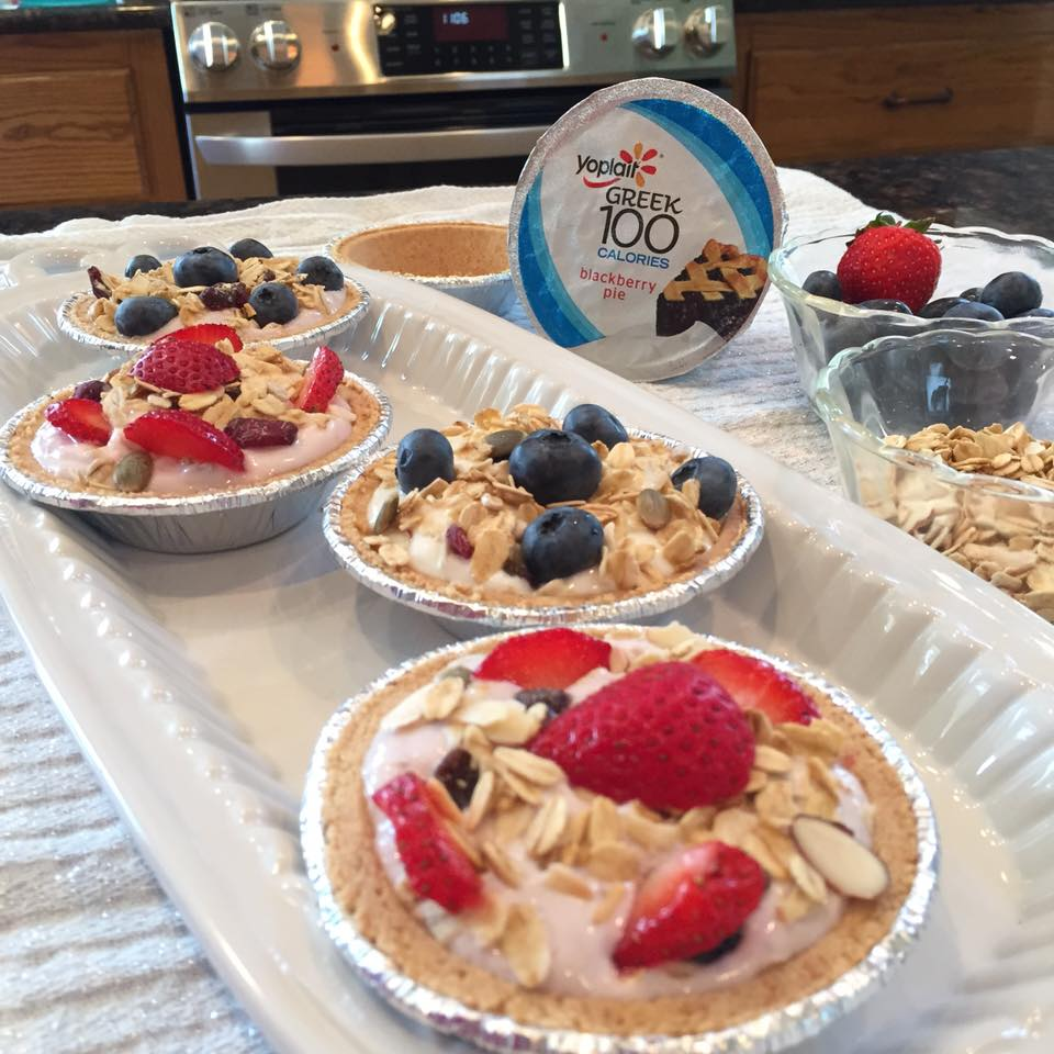 Yogurt Tartlets Recipe — Dishmaps