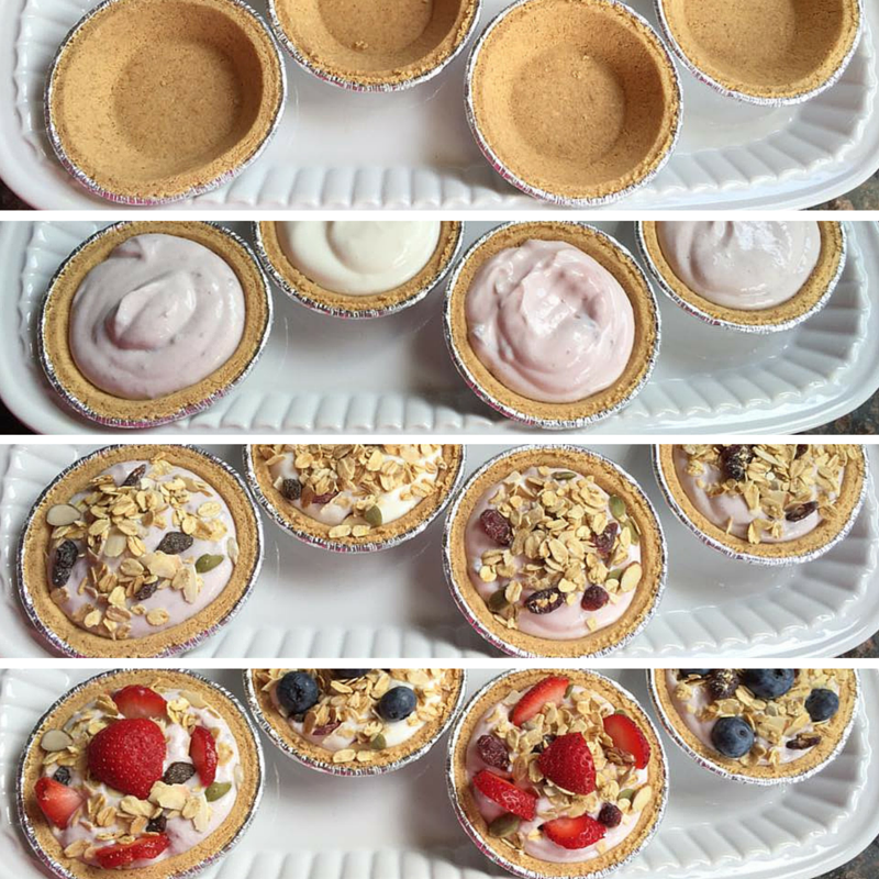 Mini Yogurt Pies