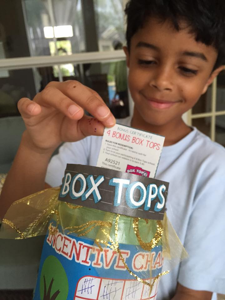 Box Tops for Kids Program