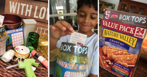 Box Tops For Education Craft