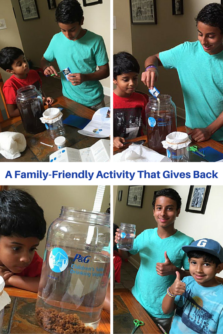 Family-Friendly Activity That Gives Back